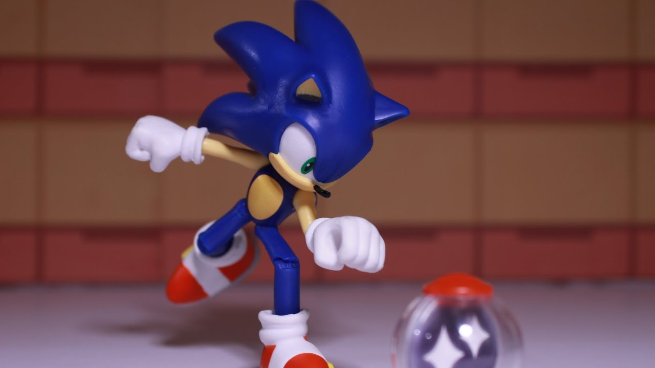 The Best Sonic Toy Sonic The Hedgehog Articulated Figure By Jakks Pacific Youtube