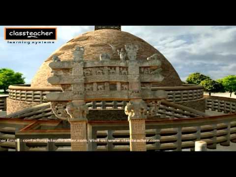 """Stupa"" - Ancient Indian History Madhya Pradesh (Khajuraho) | 3D Kids (Children) Education Video"