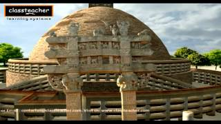 """Stupa"" - Ancient Indian History Madhya Pradesh (Khajuraho) 
