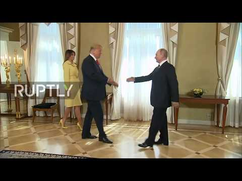 Finland: Putin and Trump pose for photo before bilateral tal