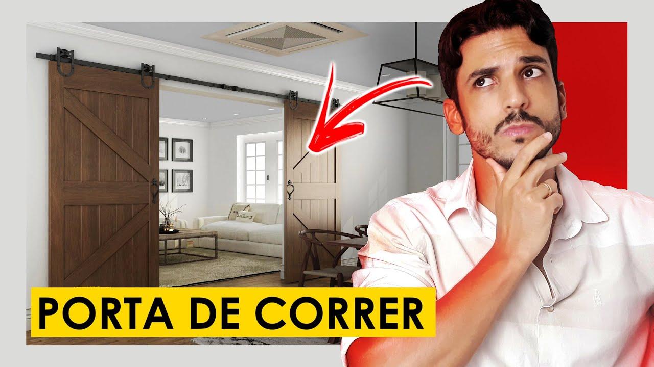 PORTA DE CORRER - COMO USAR NA SUA CASA ?
