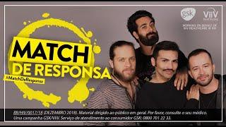 Direito das pessoas Vivendo com HIV #MatchDeResponsa