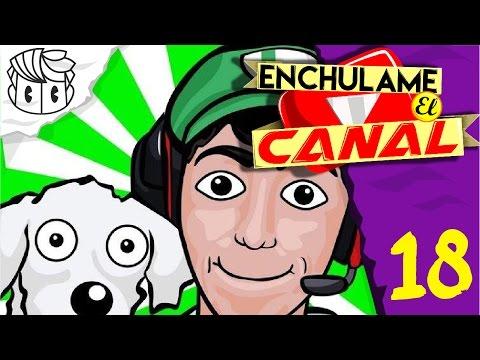 ENCHULAME EL CANAL 18 : FERNANFLOO ( Re Diseño de banner ) | Angel Drawin