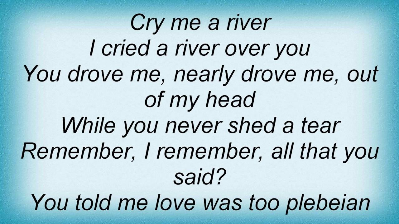 Ella fitzgerald and joe pass cry me a river