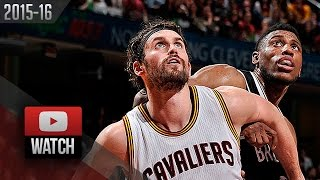 Kevin Love Full Highlights vs Nets (2015.11.28) - 26 Pts, 7 Reb