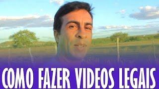 Como Fazer Videos Legais - Dicas #08 (Estabilizador de imagem)