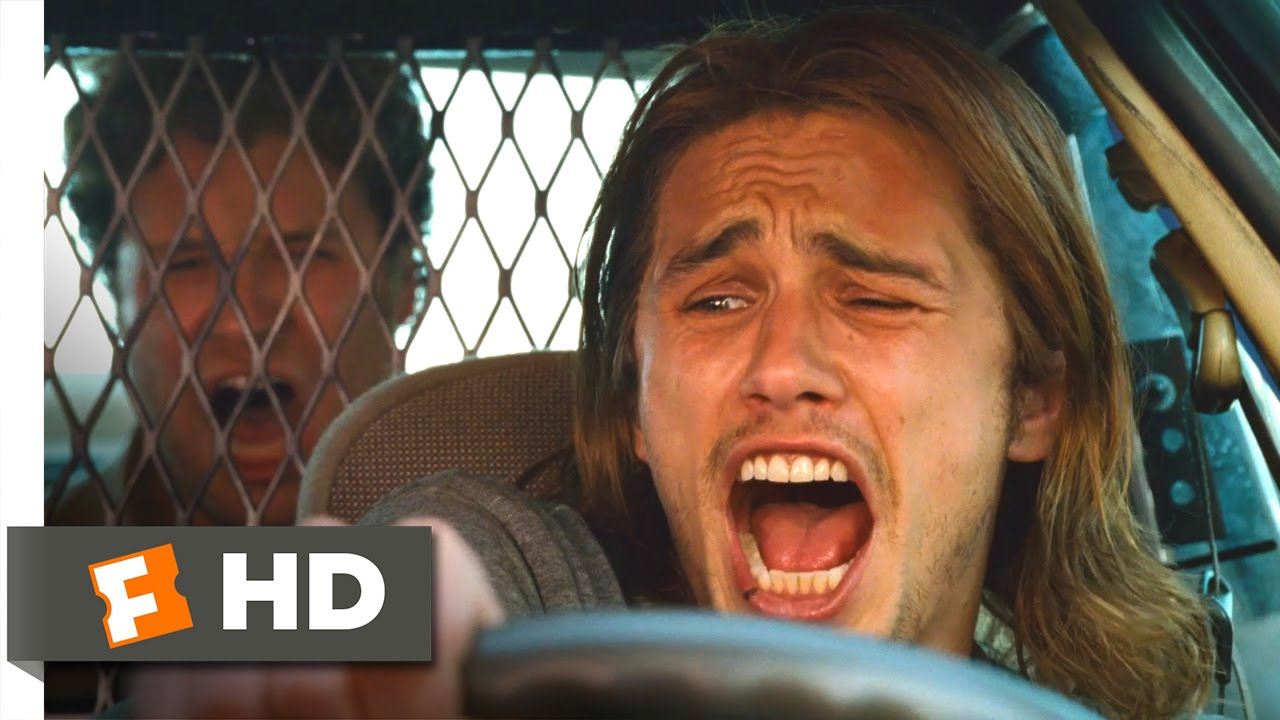 Pineapple Express Police Car Chase Scene 610 Movieclips Youtube