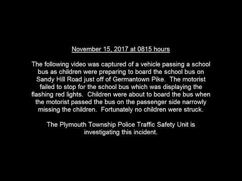 Sandy Hill Road School Bus Incident