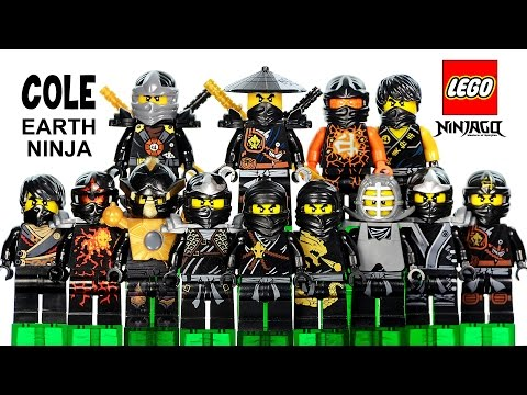 LEGO® Ninjago Cole The Black Ninja Of Earth 2015 Minifigure Ultimate Collection