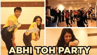 Abhi Toh Party Shuru Hui Hai l Bollywood Zumba Fitness l Choreo by Soul to Sole