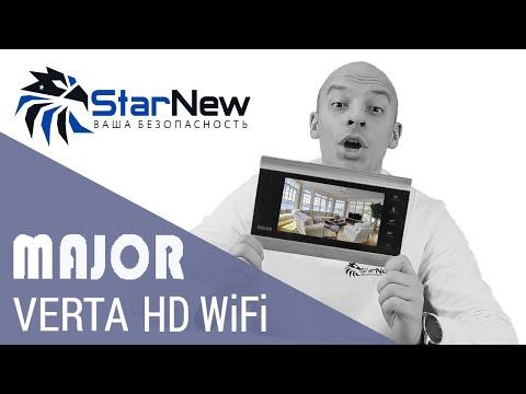 Major Verta HD WiFi PRO - обзор видеодомофона,  видеофоны, видеодомофон wifi