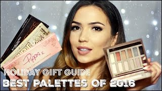 Holiday Eyeshadow Palettes Top 5 Favourites  | TheMakeupChair