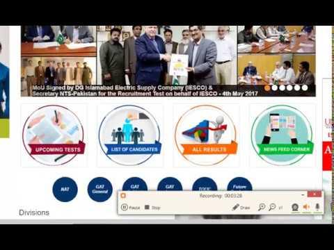 Lda Jobs 2018 Nts Test Application Form Sample Papers Result