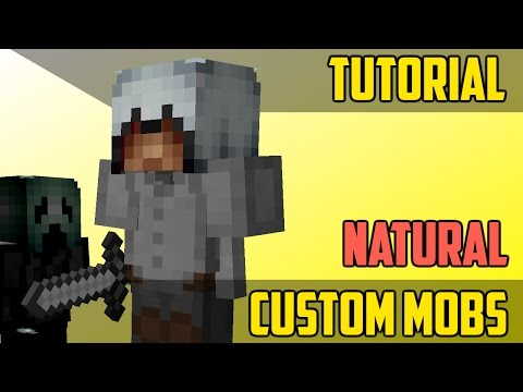 How To Naturally Spawn Custom Mobs - Minecraft Command Block Tutorial [1.11][1.10][1.9]