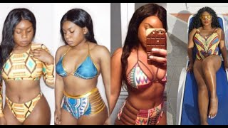Aliexpress haul|African print swimmingsuits| | affordable&Cheap