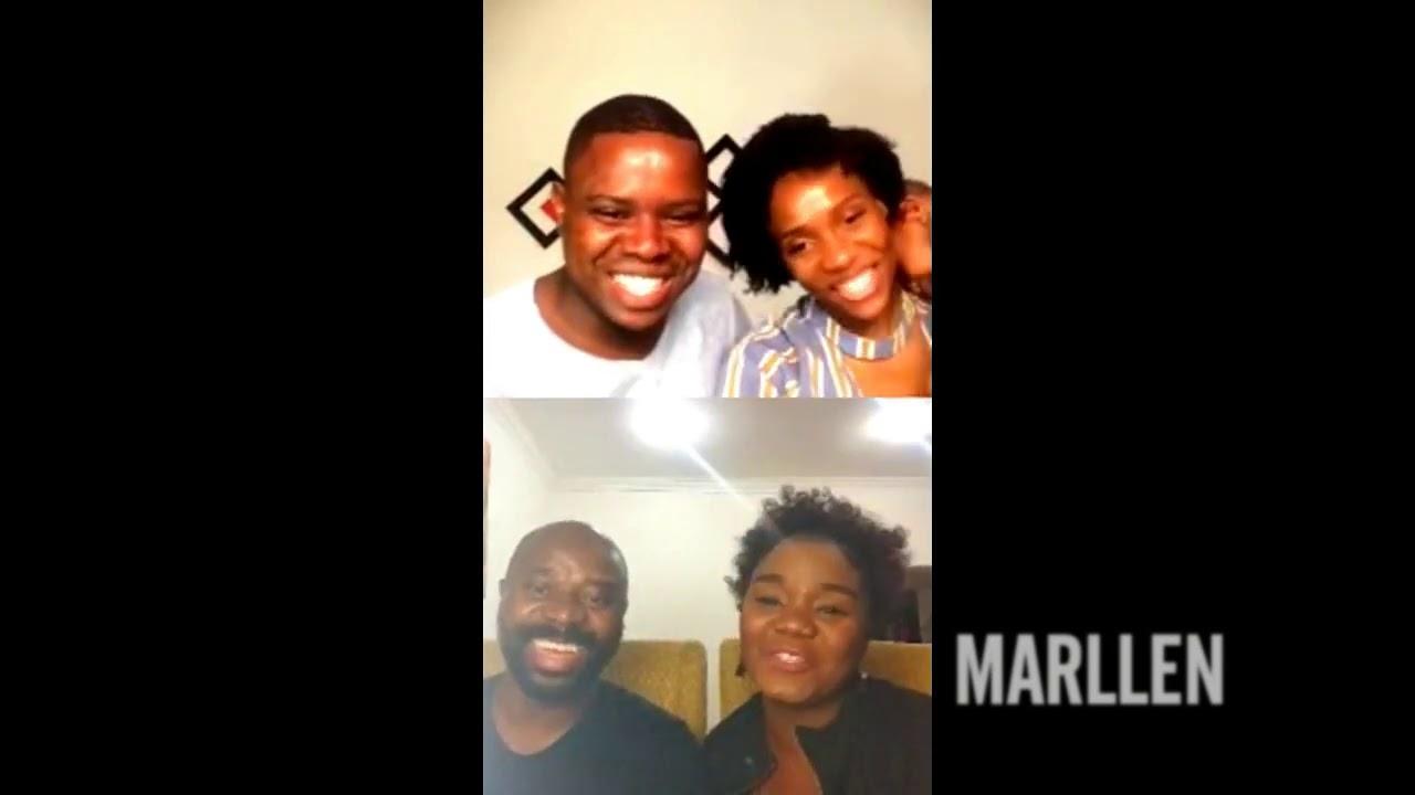 Marllen e o marido testemunham o Poder de #Deus com Abel Laste e esposa