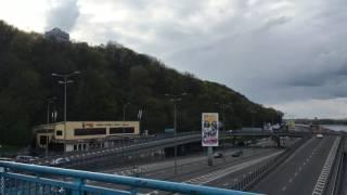 ウクライナの首都キエフを流れるドニエプル川