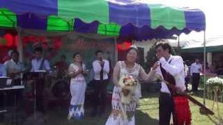 wedding reception show lashi tu lum and sumlut ban seng ja