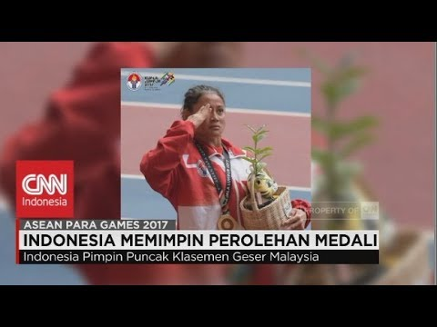 Indonesia Memimpin Perolehan Medali di ASEAN PARA GAMES 2017