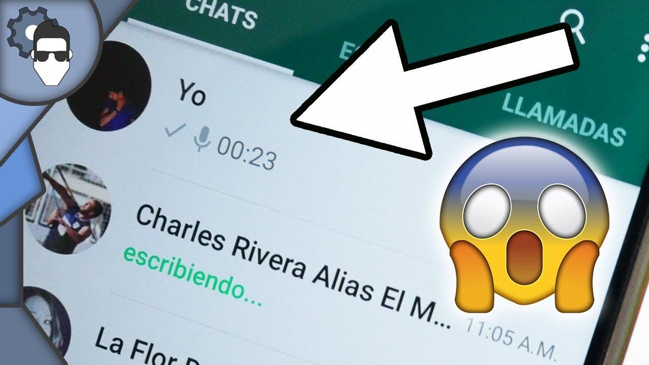 Chatear contigo mismo? ¡Trucos de Whatsapp que no sabías! - YouTube