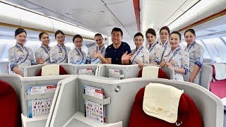 Hainan Airlines 5 Star Business Class Experience