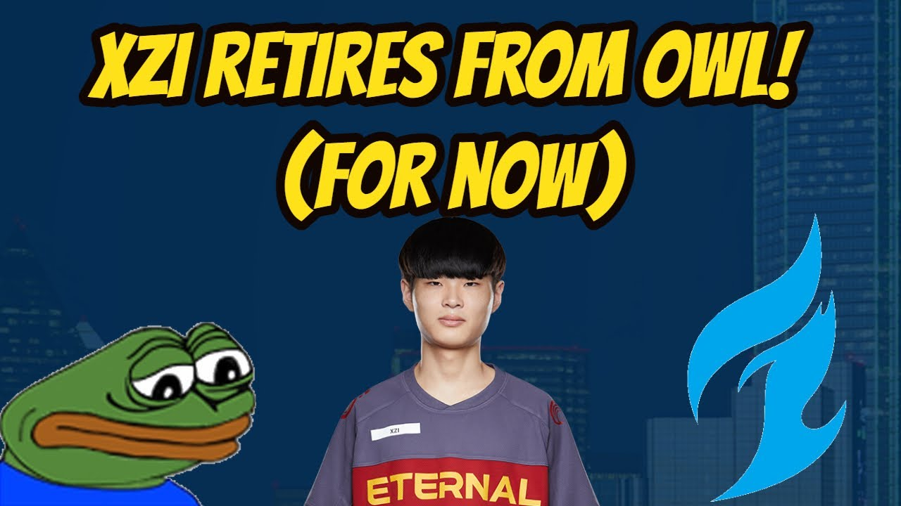Xzi Retires From the Overwatch League! (for now)