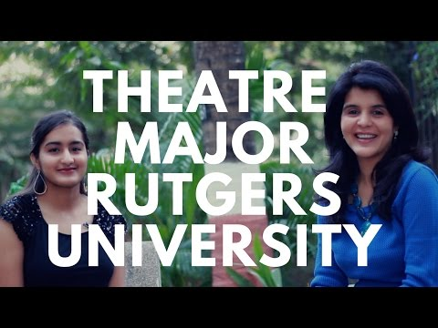 College Experience - Theatre Major at Rutgers University #ChetChat