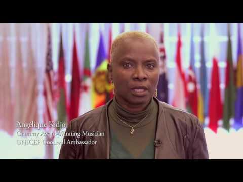 Angelique Kidjo #RefugeesWelcome