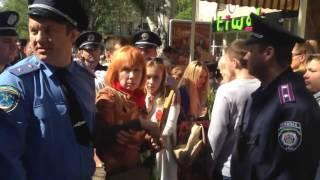 Николаев 9 мая Нападение боевиков на ветеранов ВОВ 09 05 2016