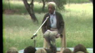 J. Krishnamurti - Ojai 1977 - Public Talk 6 - What is the significance of meditation?