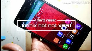 How to Hard Reset or Factory Reset the Infinix Hot Note X551 or any Android smartphone.