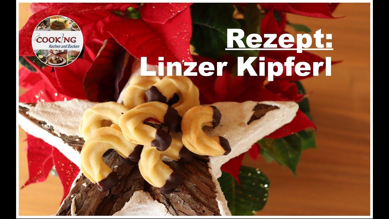 Gute Weihnachtskekse.Linzer Kipferl Linzer Stangerl Teegebäck Gute Weihnachtskekse Schnell Und Einfach Backen