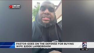 Pastor goes on the defense for buying wife $200K Lamborghini