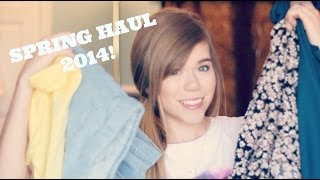 Spring Clothing Haul & Giveaway! | Makeupkatie95 Thumbnail