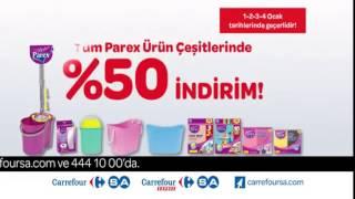 CarrefourSA Hafta Sonu İndirimi Parex Ürünleri Reklamı