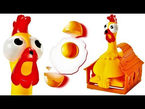 Tavuk Oyuncak, Yumurta Gerçek!