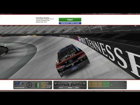 iRacing.com Bristol Motor Speedway track guide (NASCAR CUP CAR)