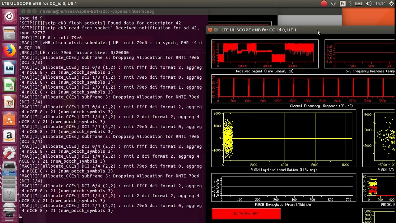 OpenAirInterface 4G/LTE with LimeSDR_Mini – Linux hacking