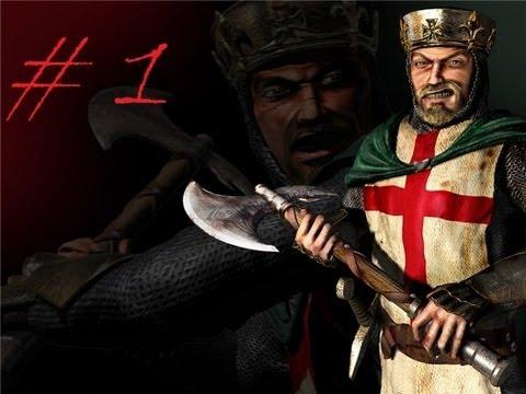 Stronghold Крестоносцы (миссия 1 +)