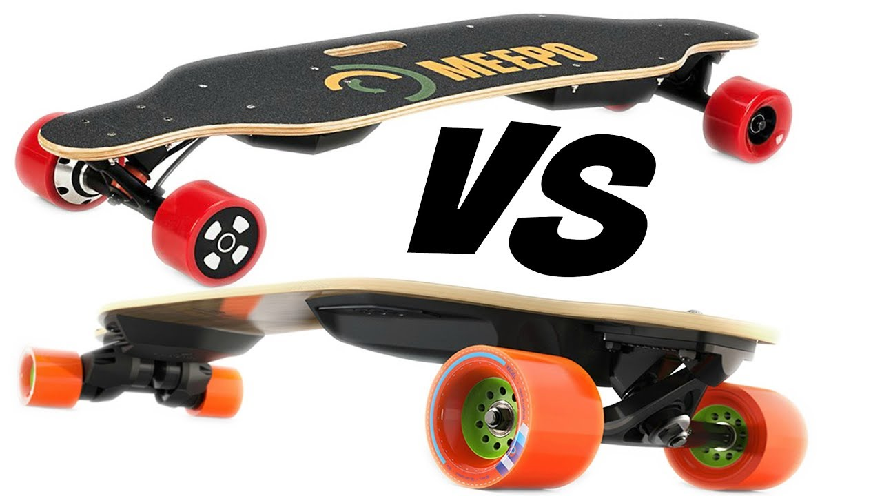 $260 VS $1400 Boosted Board  Electric Skateboard Comparison  YouTube