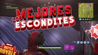 FORTNITE'S 4 BEST *ESCONDITES* SECRETS!