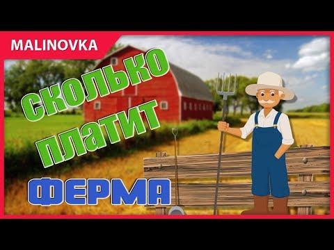 Как заработать денег на ферме Малиновка РП новый сервер КРМП