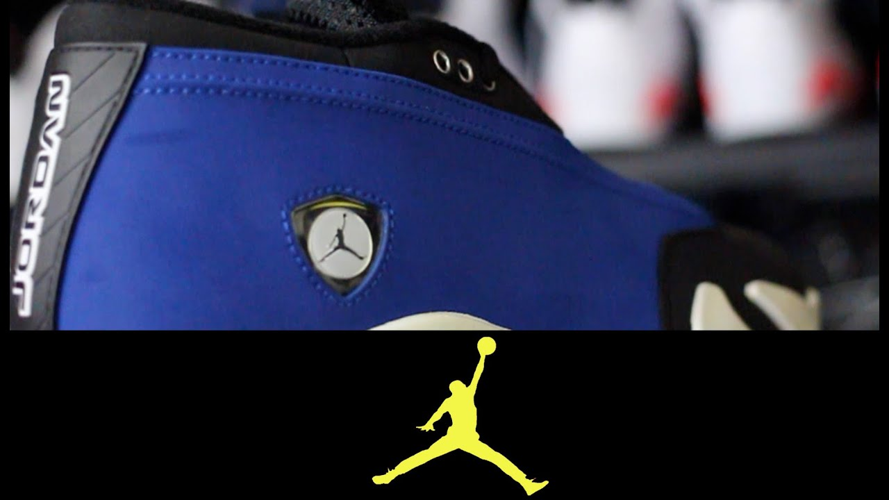 1cfeda90ff3 Air Jordan 14 Retro Low  Laney  - YouTube