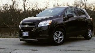 2013 Chevrolet Trax: 4 Guys In A Car review