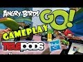Let's Play Angry Birds Go: TELEpods Gameplay (Pig Rock Raceway) Speedway pt. 1