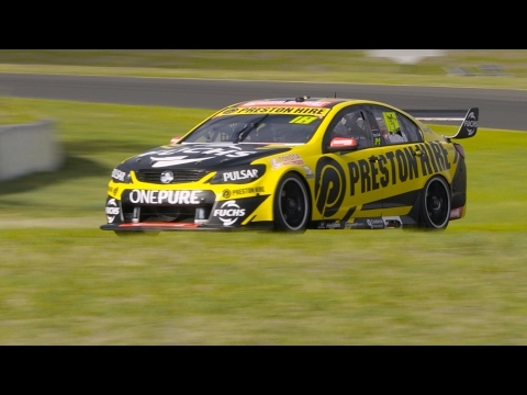 Sights and Sounds of the 2017 Supercars Test