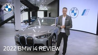 homepage tile video photo for The 2022 BMW i4 Models: BMW Review & Walk-Around   BMW USA