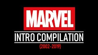 EVERY MARVEL INTRO (2002-2019) (Including Captain Marvel & Spider-Man: Far From Home Concepts)