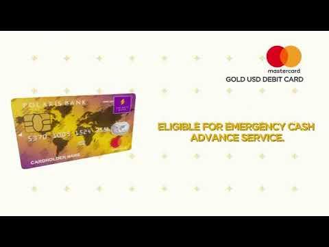 Polaris Bank Card Advert