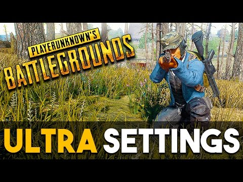 PlayerUnknown's Battlegrounds PC Ultra Settings Gameplay